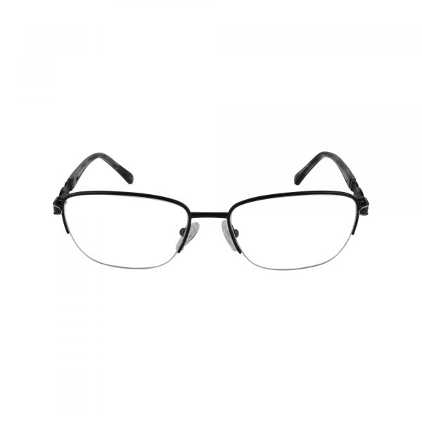 Selma Black Glasses - Front View