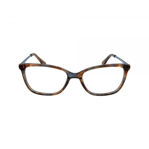 155 Brown Glasses - Front View