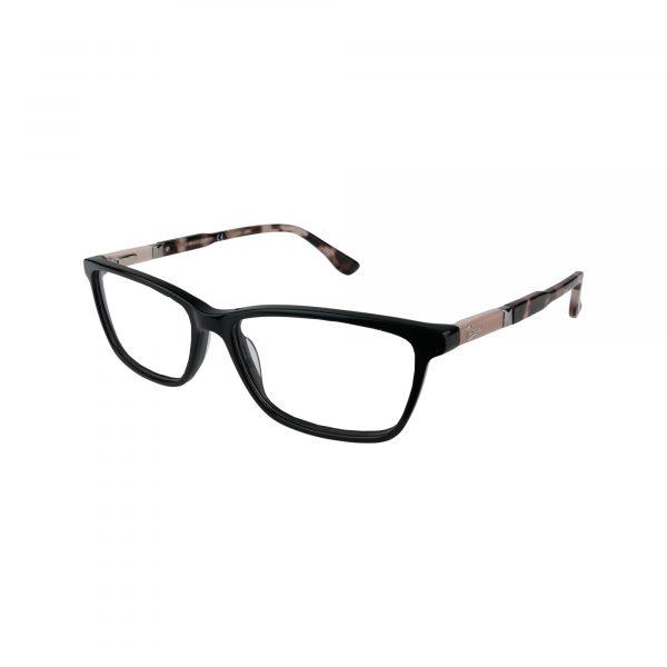 145 Black Glasses - Side View