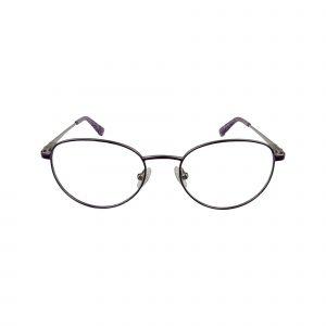 168 Purple Glasses - Front View