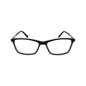 143 Black Glasses - Front View