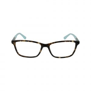 145 Brown Glasses - Front View