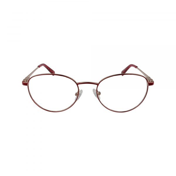 168 Red Glasses - Front View