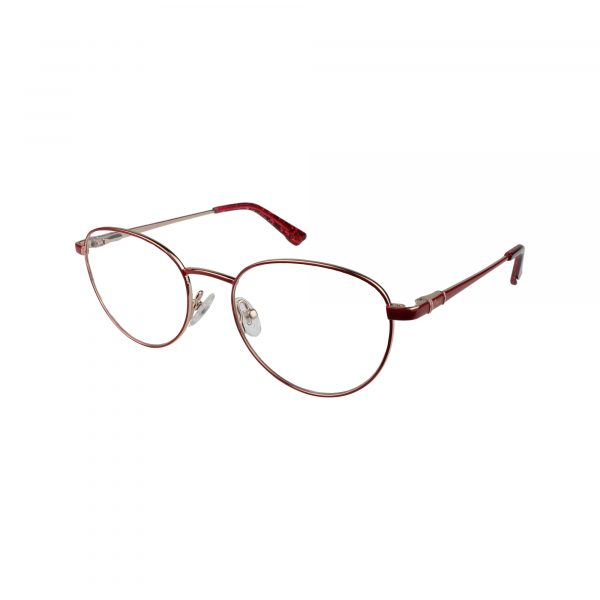 168 Red Glasses - Side View