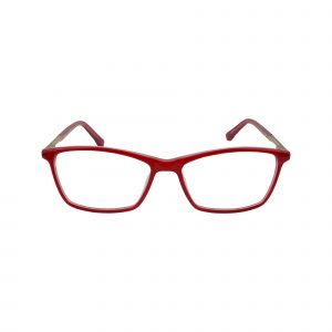 143 Red Glasses - Front View
