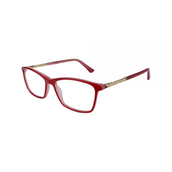 143 Red Glasses - Side View
