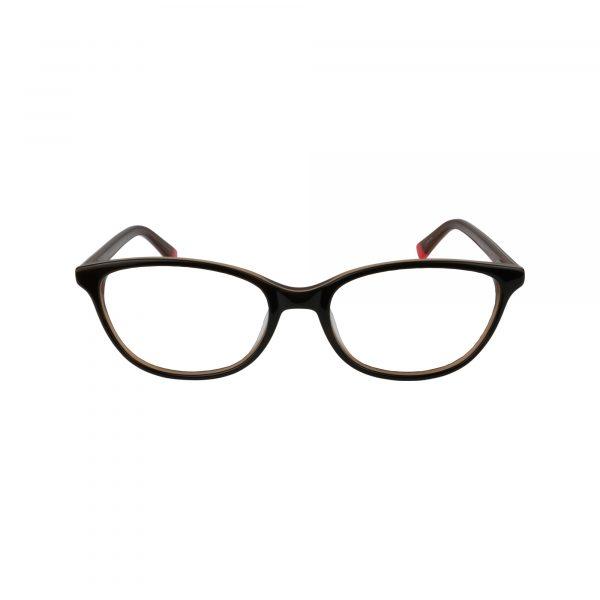 JO3020 Black Glasses - Front View