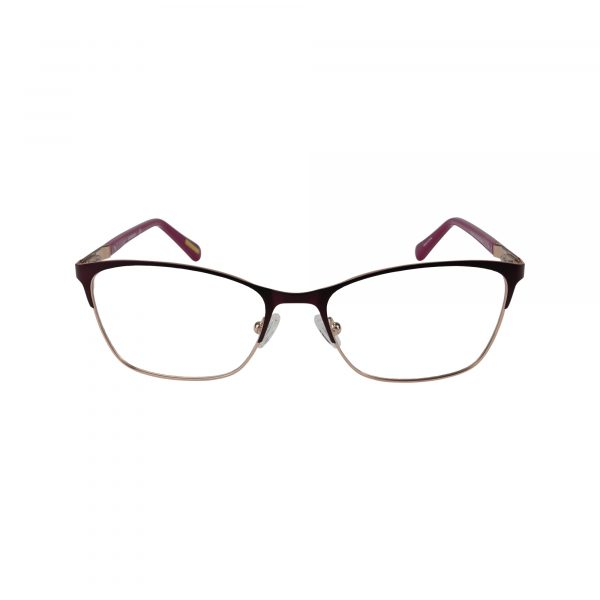 4005 Purple Glasses - Front View