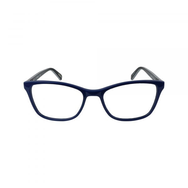 484 Blue Glasses - Front View