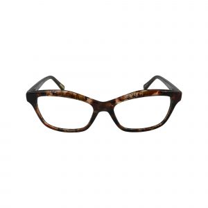 558 Brown Glasses - Front View