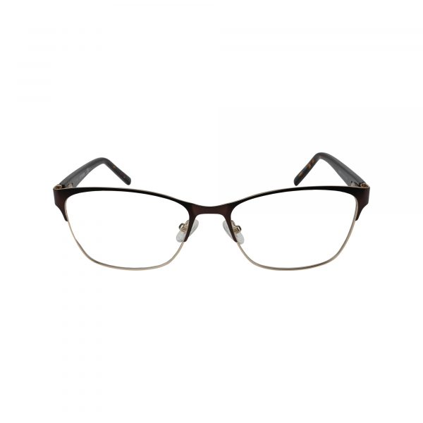464 Black Glasses - Front View