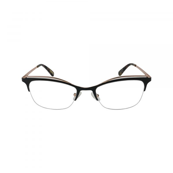 4003 Black Glasses - Front View