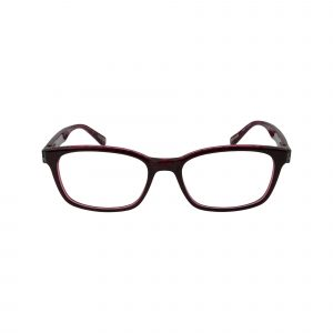529 Red Glasses - Front View