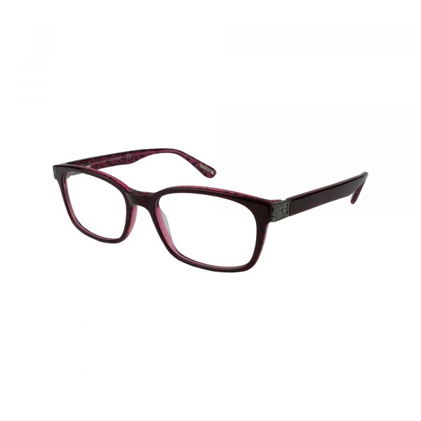 529 Red Glasses - Side View