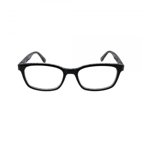 529 Black Glasses - Front View