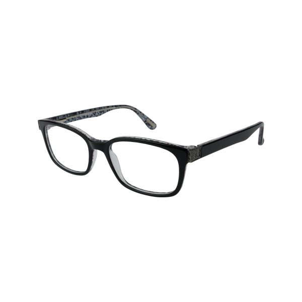 529 Black Glasses - Side View