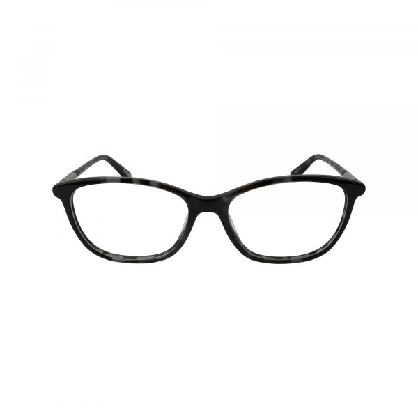 4001 Black Glasses - Front View