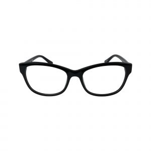 2696 Black Glasses - Front View