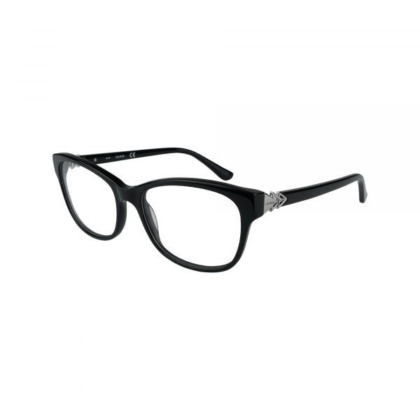 2696 Black Glasses - Side View