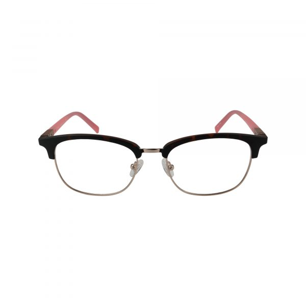 3024 Brown Glasses - Front View