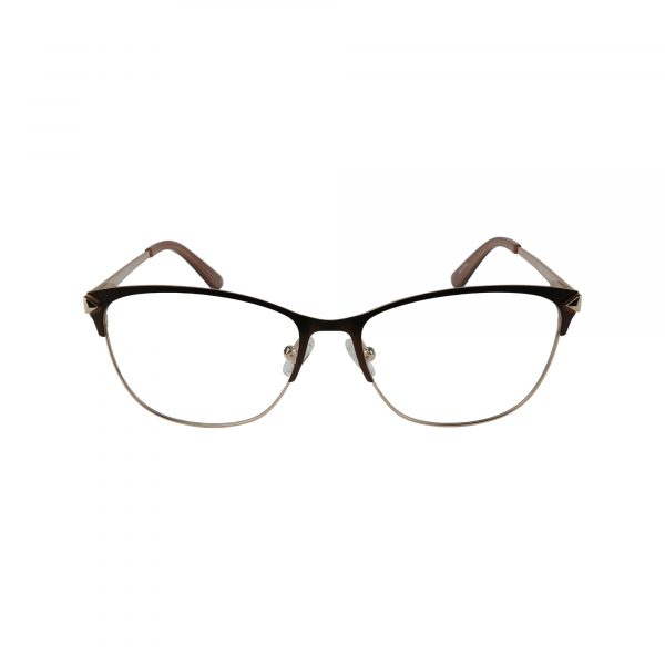 2755 Brown Glasses - Front View