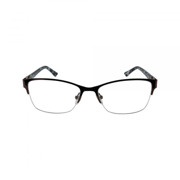 K180 Brown Glasses - Front View