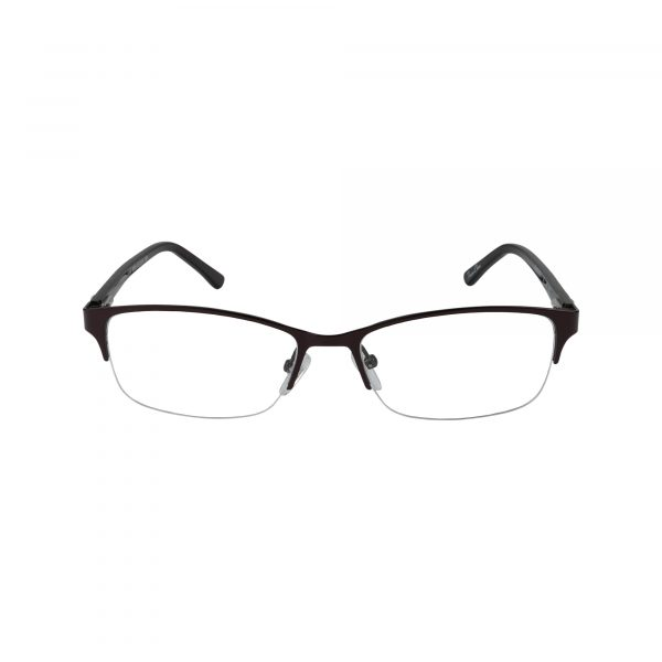 K190 Brown Glasses - Front View