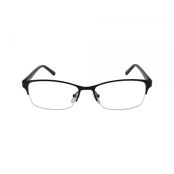 K190 Black Glasses - Front View