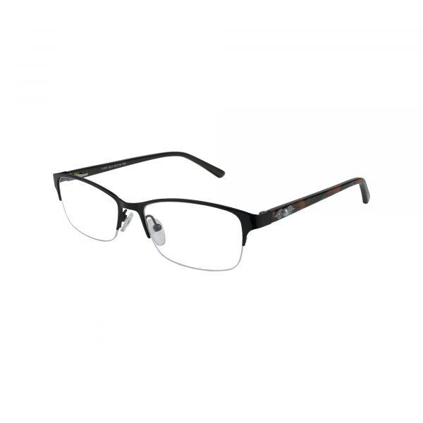 K190 Black Glasses - Side View