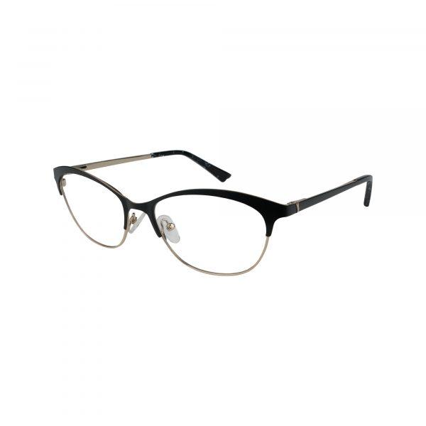 K218 Black Glasses - Side View