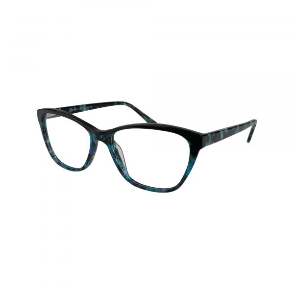 K206 Blue Glasses - Side View