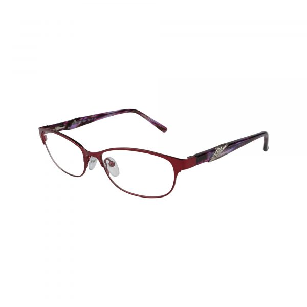 K181 Red Glasses - Side View