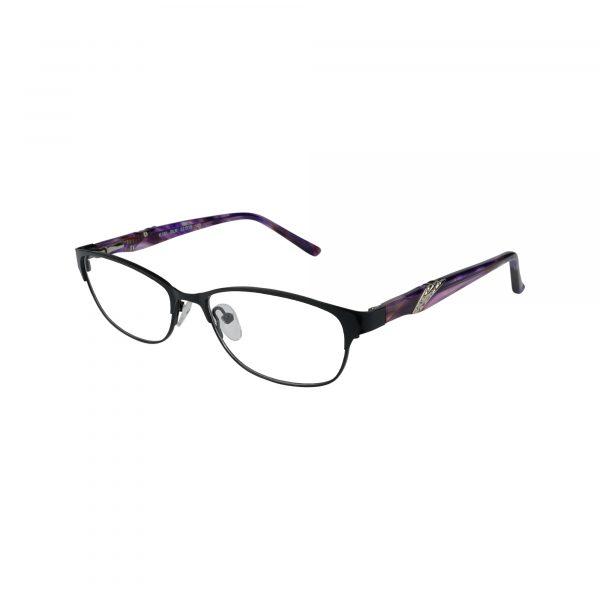 K181 Black Glasses - Side View