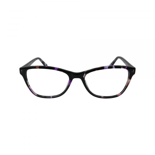 K217 Purple Glasses - Front View