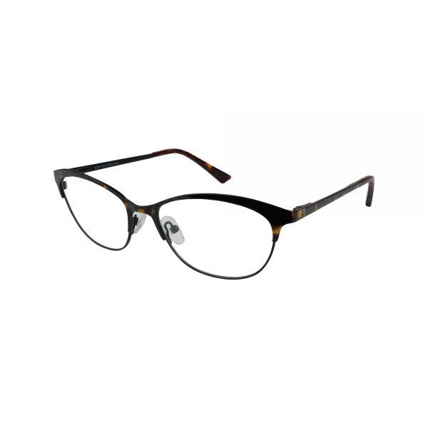 K218 Tortoise Glasses - Side View