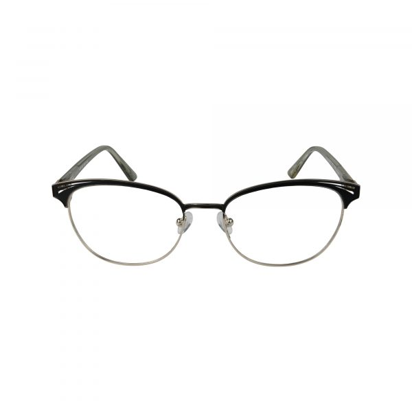 K220 Black Glasses - Front View