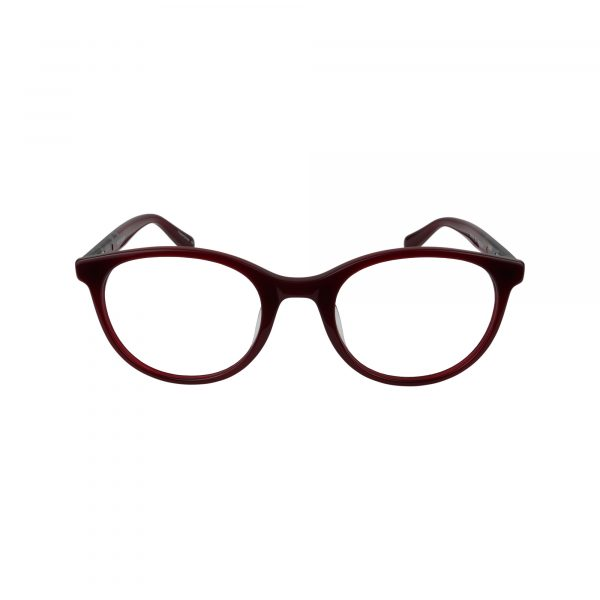 1016 Red Glasses - Front View