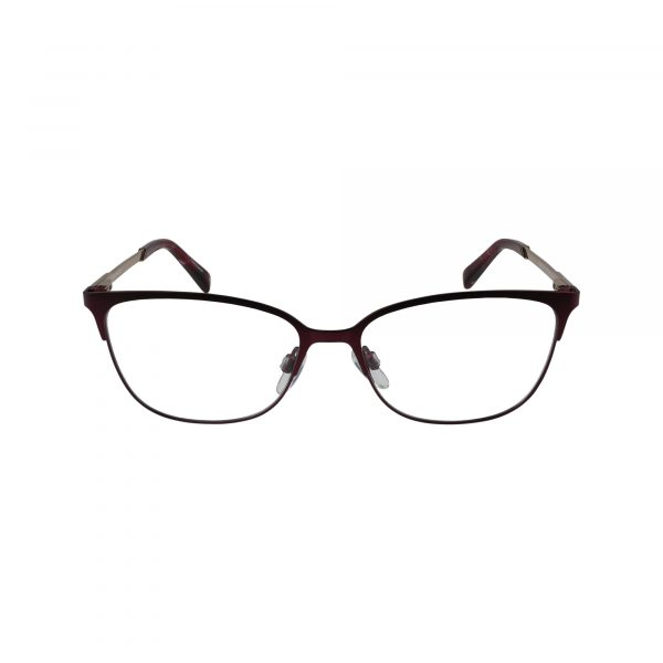 3013 Red Glasses - Front View