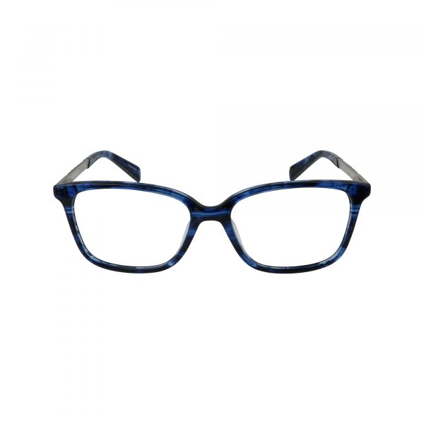 1013 Blue Glasses - Front View
