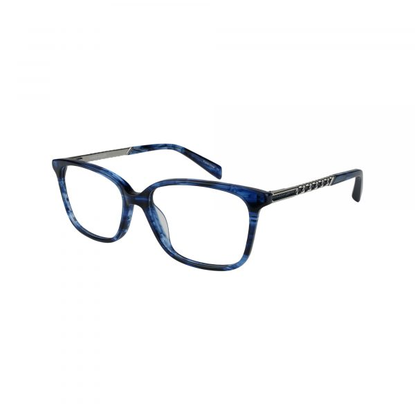 1013 Blue Glasses - Side View