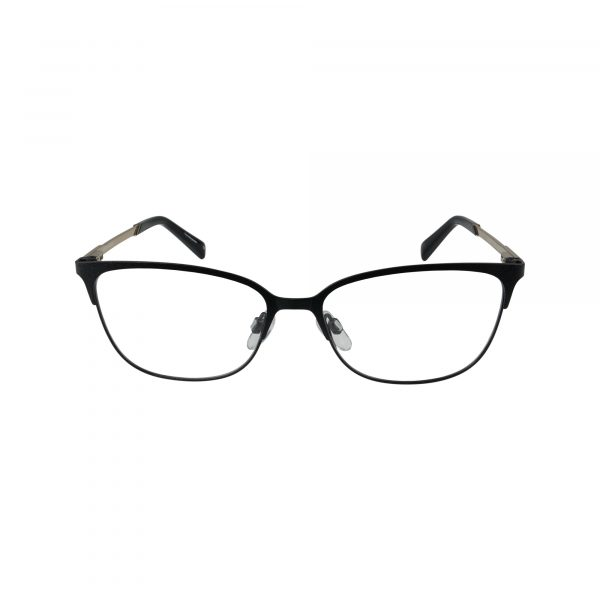 3013 Black Glasses - Front View