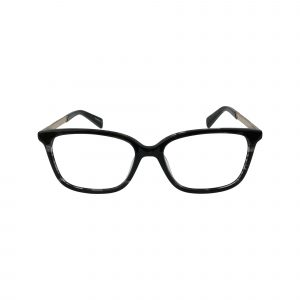 1013 Black Glasses - Front View