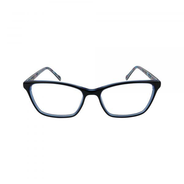 Alora Blue Glasses - Front View