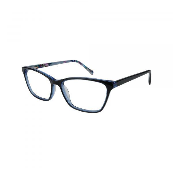 Alora Blue Glasses - Side View