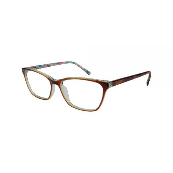 Alora Tortoise Glasses - Side View