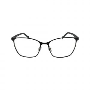Lucinda Black Glasses - Front View