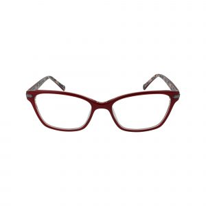 Sela Red Glasses - Front View