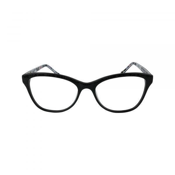 Katia Black Glasses - Front View