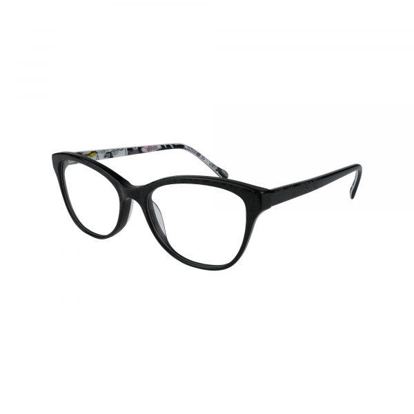 Katia Black Glasses - Side View