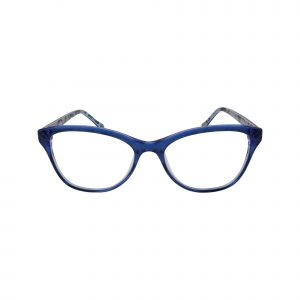 Katia Blue Glasses - Front View